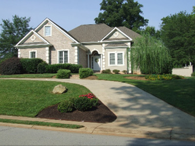 Titan Ltd lawn after. Simpsonville, SC
